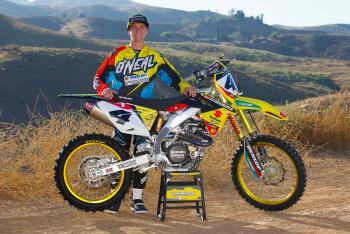 Blake Baggett Inks Deal with Yoshimura Suzuki