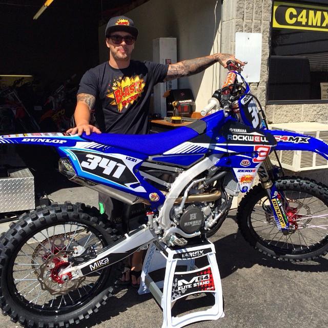 Former AMA Motocross Rookie of the Year, Nico Izzi, returns to racing Saturday. Photo: Nico Izzi