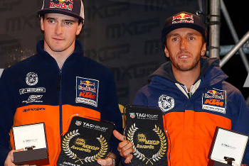 Red Bull KTM Announces 2015 MXGP Team