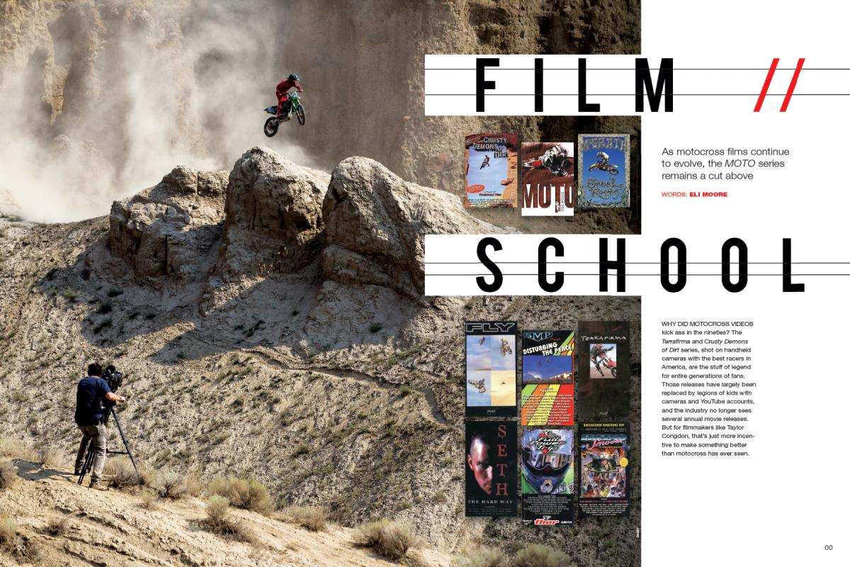 As its sixth installment launches, Taylor Congdon's MOTO series aims to evoke the moto-filmmaking's 1990s heyday—with a big upgrade in technology and budget. Page 116