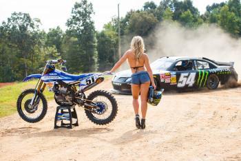 Justin Barcia Rides the Yamaha