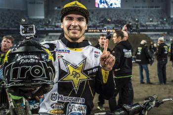 Jason Anderson Wins 450 Debut in Sweden