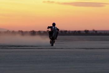 Jean-Michel Bayle Rides Flat-Track