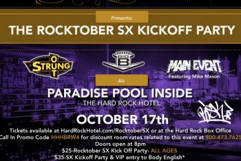The Rocktober SX Kickoff Party