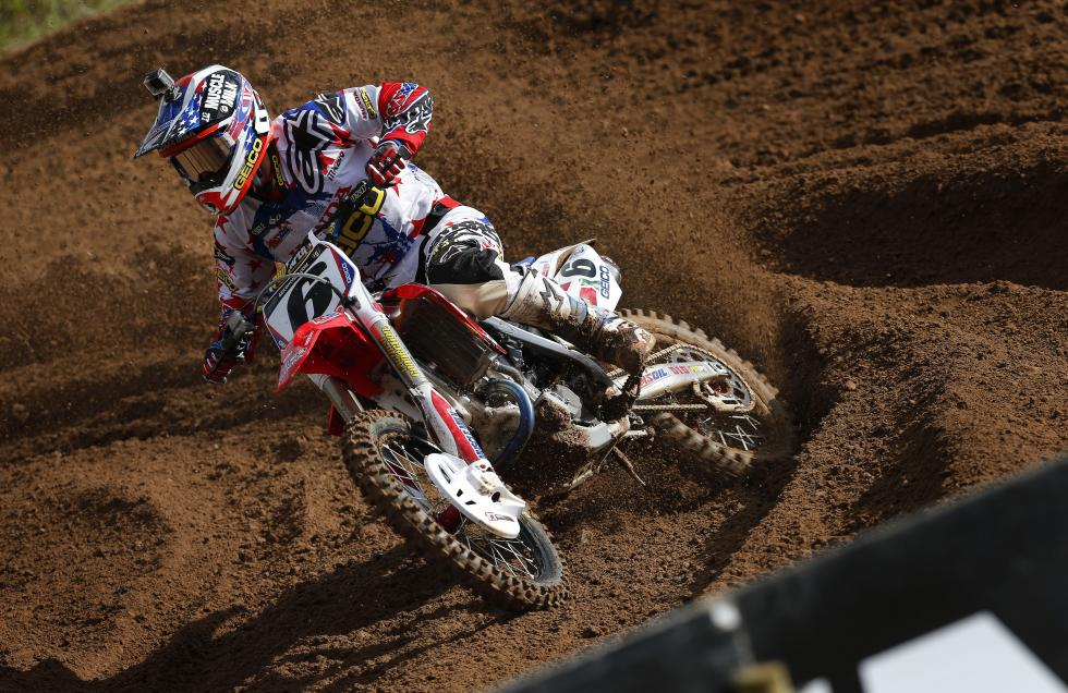 Tomac looks to bounce back from a tough loss at the Motocross of Nations.  Photo: Sarah Gutierrez
