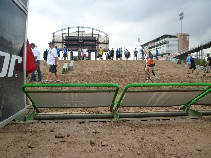 There's a roller immediately following the starting gate.Photo: Hansel