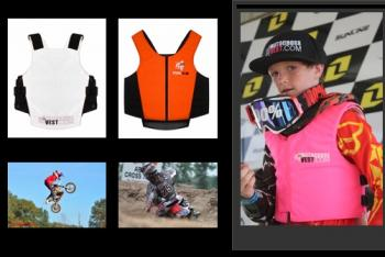 Motocross Vest Accepting Rider Resumes