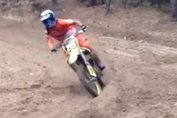 Glenn Coldenhoff Rides the 450