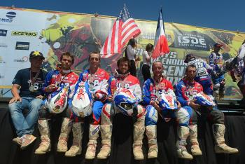 USA Junior Team Wins Gold at ISDE
