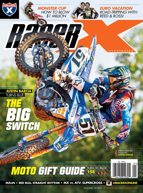 The January 2015 Issue - Racer X Illustrated Supercross Magazine