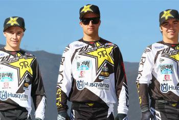 Fly Racing Signs Rockstar Energy Racing Husqvarna