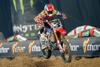 Does Eli Tomac's dominant performance in France impact 2015SX?