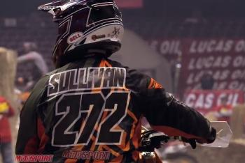 Sullivan and Rookstool at Boise Endurocross