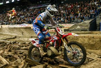 Webb Dethrones Blazusiak for EnduroCross Title