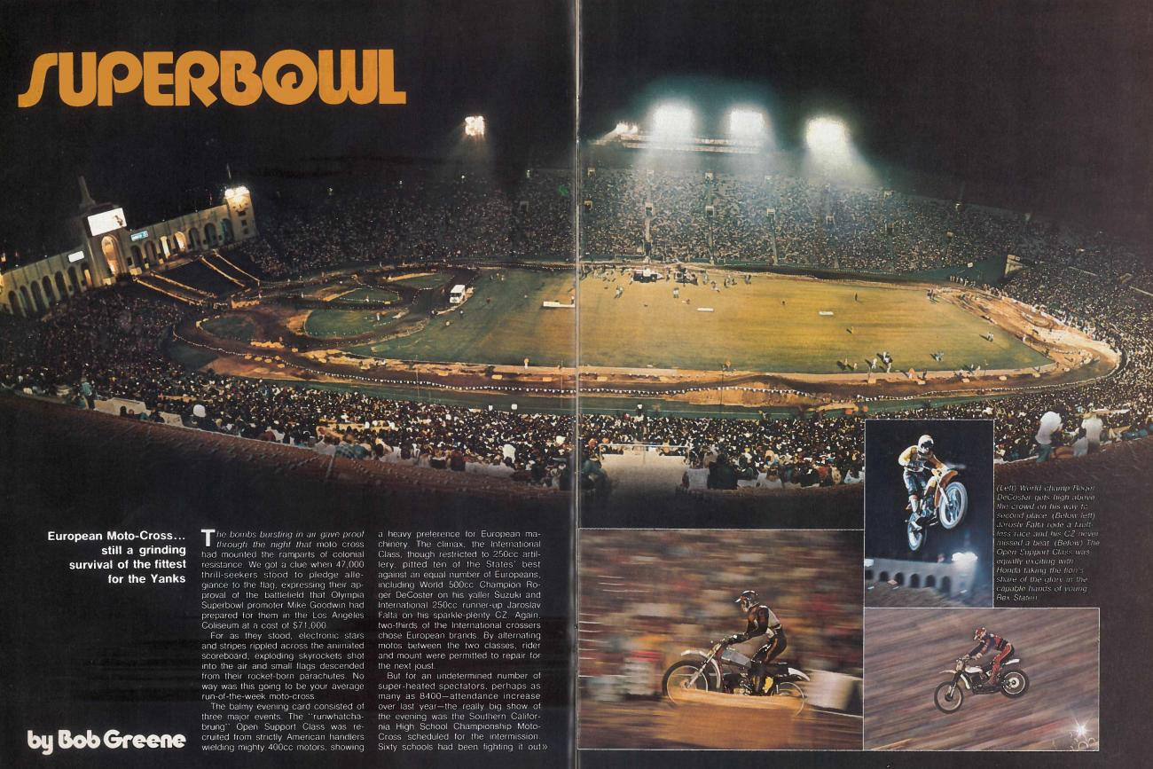 Forty Years of Supercross: 1974