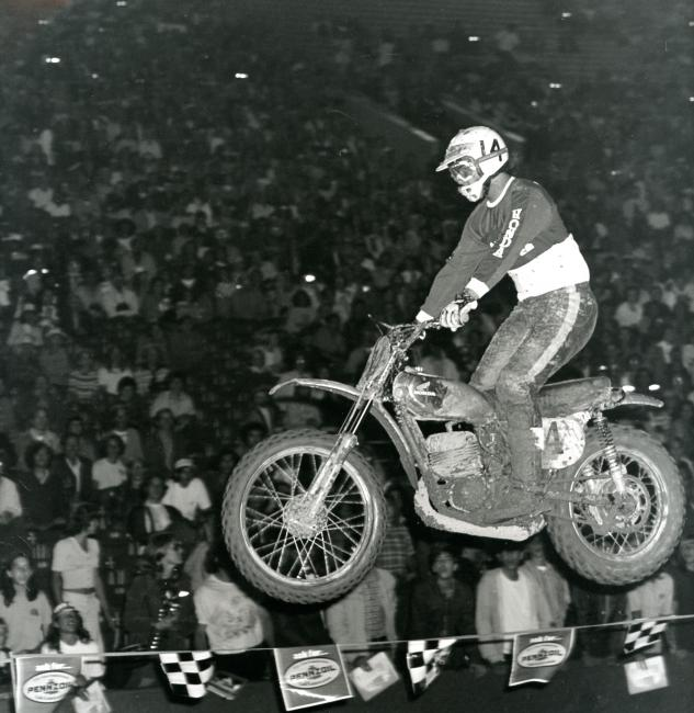 forty years  supercross  racer