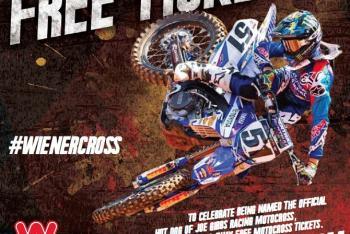 Wienerschnitzel Kickstarts Motocross Partnership with Online Sweepstakes