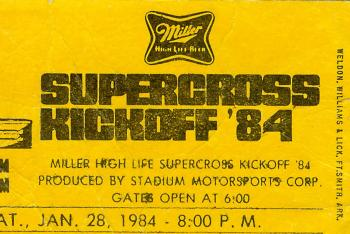 40 Years of Supercross: 1984