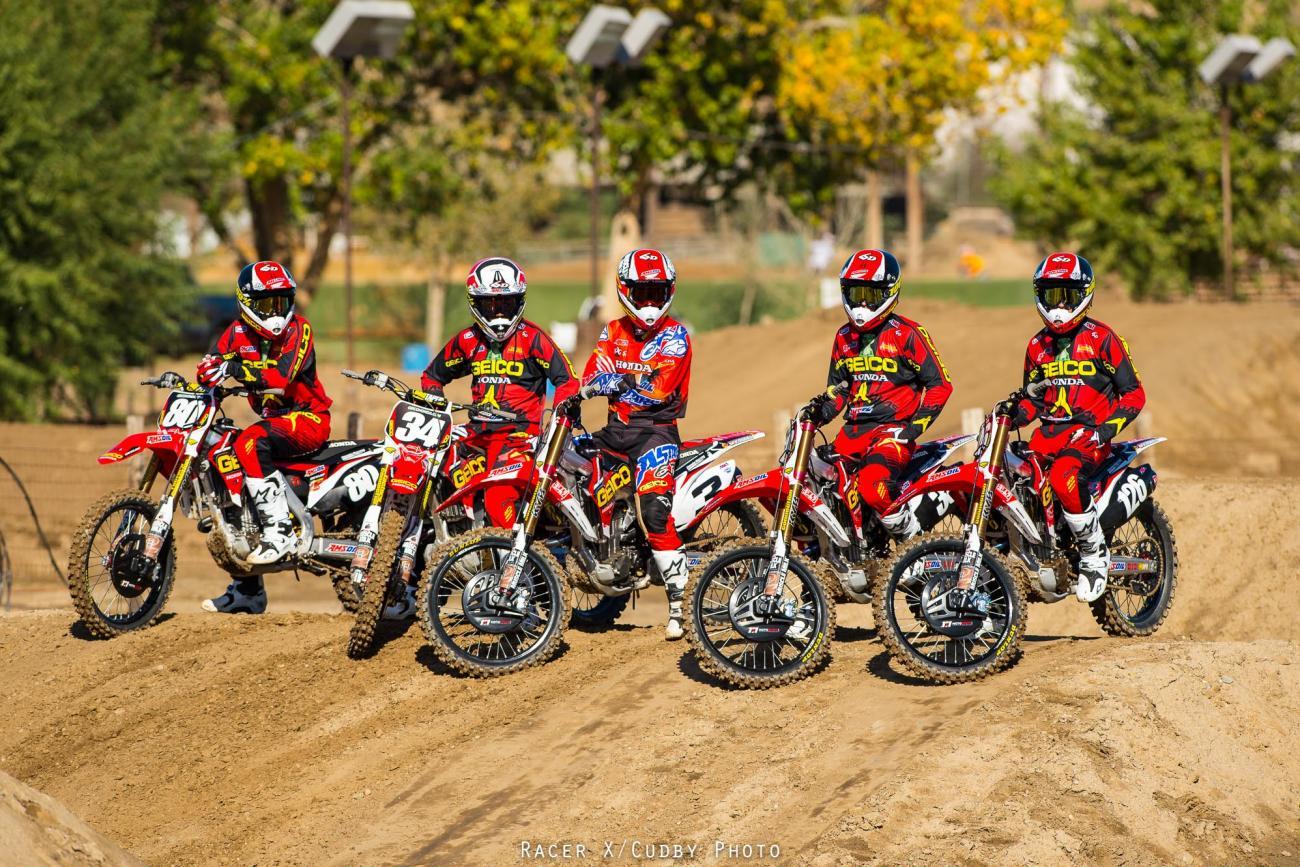 GEICO Honda Team Gallery - Racer X Online