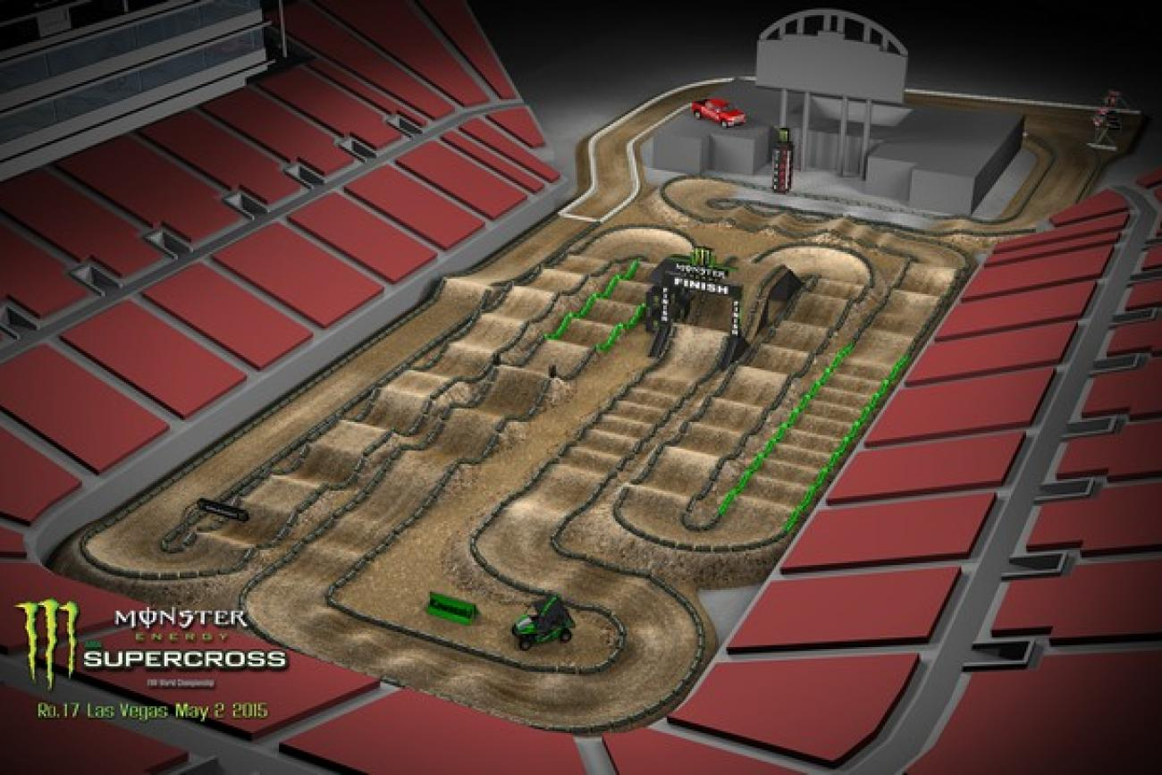 2015 Monster Energy Supercross Track Designs Released