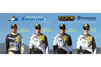 Motorcycle Superstore Partners with Rockstar Energy Husqvarna