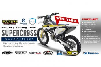 Rockstar Energy Husqvarna Factory Sweepstakes