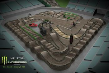 Animated Track Map: Anaheim 1