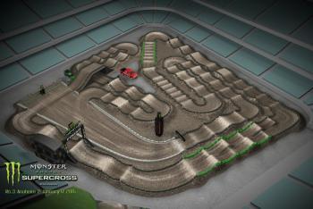 Animated Track Map: Anaheim 2