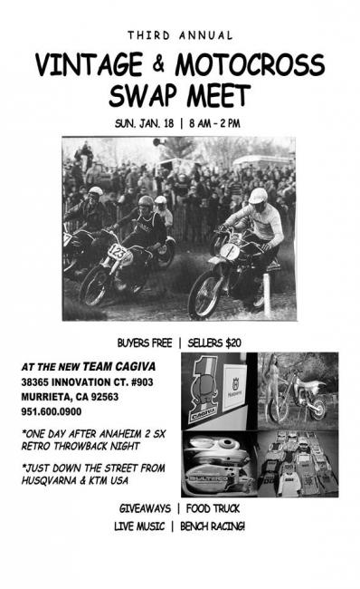 vintage racer swap meet