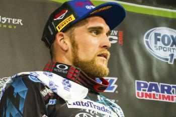 Weston Peick (Foot) Out for Anaheim 2