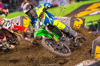 Watch: Trey Canard, Chad Reed Incident at Anaheim 2