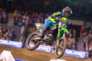 What do you think should have happened to Chad Reed on Saturday night?