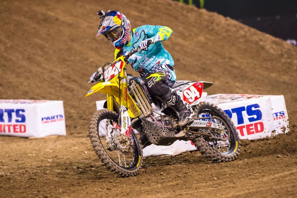 Roczen's won both in Anaheim so far.Photo: Simon Cudby
