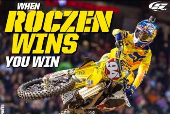 Stellar MX Offering Free Shipping when Roczen Wins