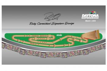 Daytona Amateur Supercross Track Unveiled