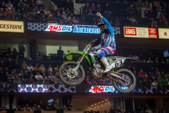 Chris Blose Sweeps Arenacross Class in Nashville