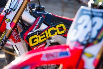 Racer X Films: GEICO Honda Race Shop