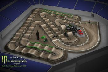 Animated Track Map: San Diego