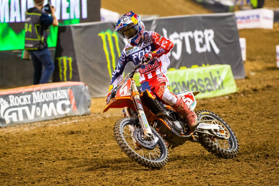 """The """"thing"""" between Roczen and Dungey didn't make it into the main.Photo: Simon Cudby"""