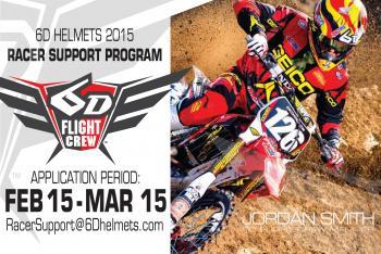6D Helmets 2015 Racer Support Program