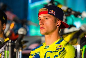 Ken Roczen's Big Crashes in Atlanta