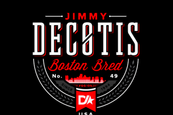 "Dedicated Ride Co. Jimmy DeCotis ""Boston Bred"" Tee"