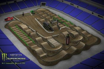 Animated Track Map: Indy