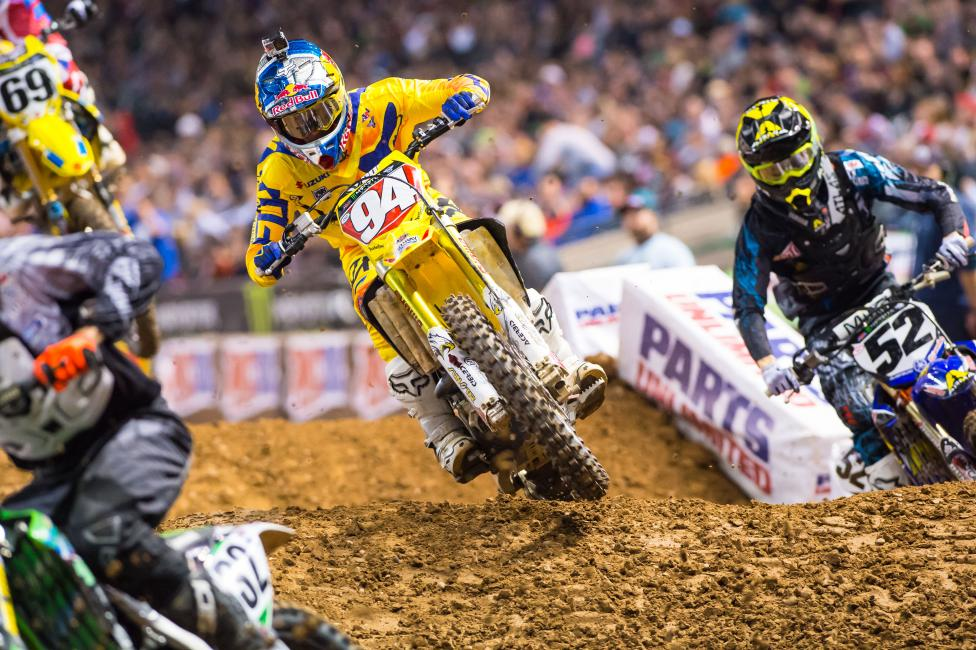 Roczen is expected to miss three weeks. Photo: Simon Cudby