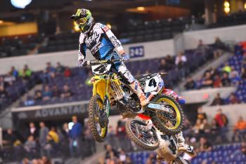 Jason Anderson, Blake Baggett Incidents in Indy