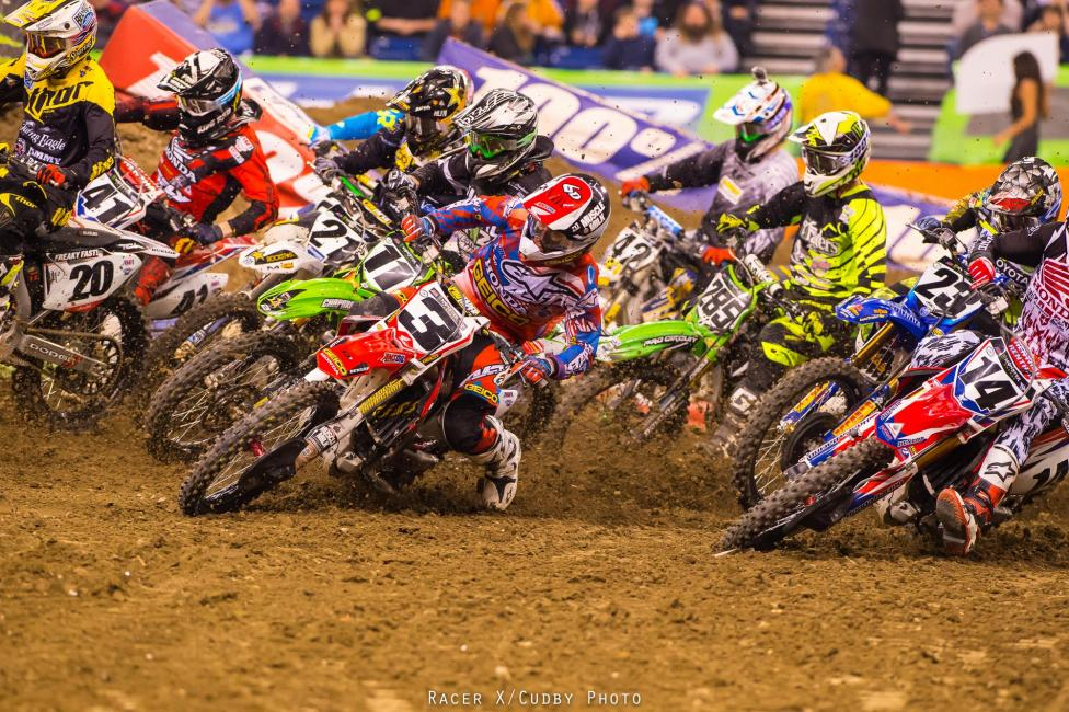 Tough night for Tomac.  Photo: Cudby