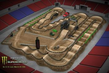 St. Louis Animated Track Map