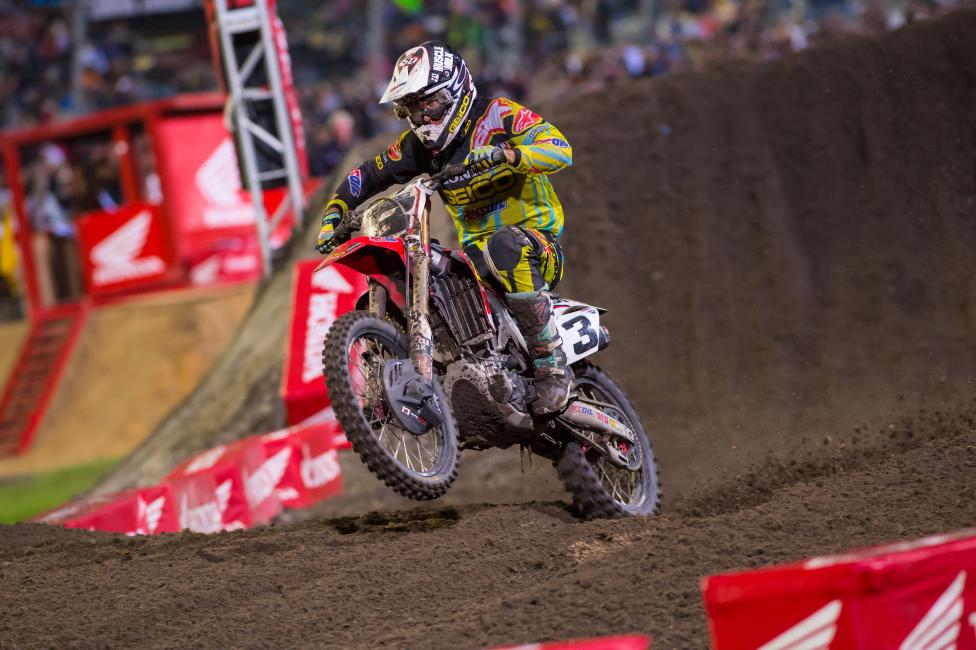 Consistency has been Eli Tomac's greatest foe—not Ryan Dungey.  Photo: Cudby