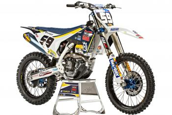 Husqvarna Unveils New 250 Race Bike