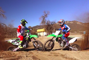 Jeremy McGrath and Mitch Ropelato Let It Rip